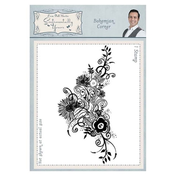 Creative Expressions BOHEMIAN CORNER Cling Stamp Sentimentally Yours syr044