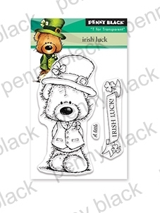 Penny Black Clear Stamps IRISH LUCK 30-538