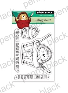 Penny Black Clear Stamps ALWAYS LOVE 30-536