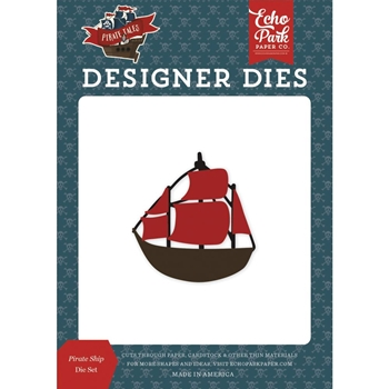 Echo Park PIRATE SHIP Die Set pta176041