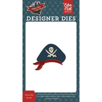 Echo Park PIRATE HAT Die Set pta176043