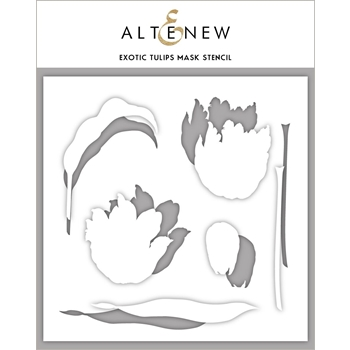 Altenew EXOTIC TULIPS Mask Stencil  ALT3019