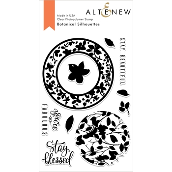 Altenew BOTANICAL SILHOUETTES Clear Stamps ALT3009