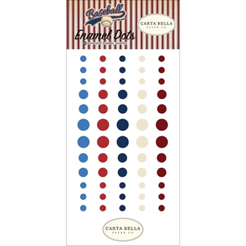 Carta Bella BASEBALL Enamel Dots cbba95028