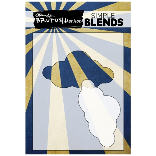 Brutus Monroe SIMPLE BLEND CLOUD Stencil and Mask bru0183 Preview Image
