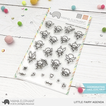 Mama Elephant Clear Stamps LITTLE FAIRY AGENDA