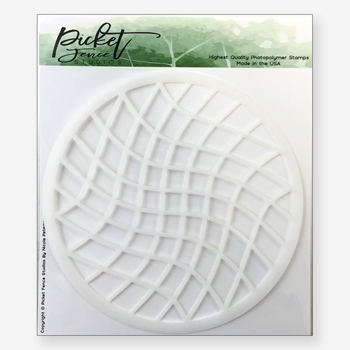 Picket Fence Studios WAFFLE SQUARES Stencil sc121