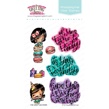 The Greeting Farm IT'S YOUR BIRTHDAY Clear Stamps TGF462