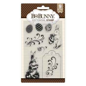 BoBunny COTTONTAIL Clear Stamps 7310524