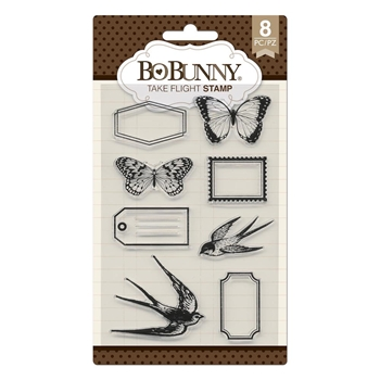 BoBunny TAKE FLIGHT Clear Stamps 7310537