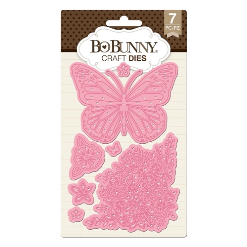 BoBunny BUTTERFLY GARDEN Craft Dies 7310507 Preview Image