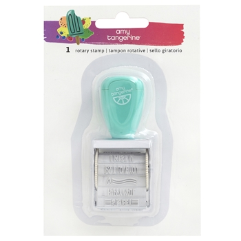 American Crafts Amy Tangerine ROTARY STAMP Stay Sweet 351205