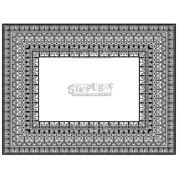 Stamplistic Cling Stamp FRAMED l180116