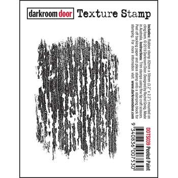 Darkroom Door Cling PEELED PAINT Texture Stamp ddts039