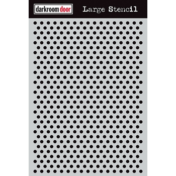 Darkroom Door DOTS Large Stencil ddls011