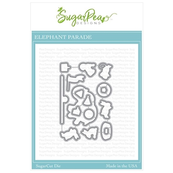 SugarPea Designs ELEPHANT PARADE SugarCuts Dies spd-00324