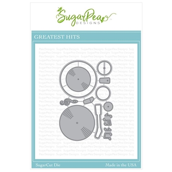 SugarPea Designs GREATEST HITS SugarCuts Dies spd-00328