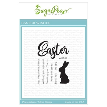 SugarPea Designs EASTER WISHES Clear Stamp Set spd-00332