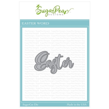 SugarPea Designs EASTER WORD SugarCuts Dies spd-00334
