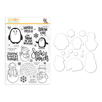 Simon Says Stamps And Dies SNOW MUCH set0219sm You Are Loved