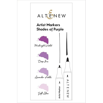 Altenew Artists Markers SHADES OF PURPLE ALT1962