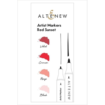Altenew Artists Markers RED SUNSET ALT1963