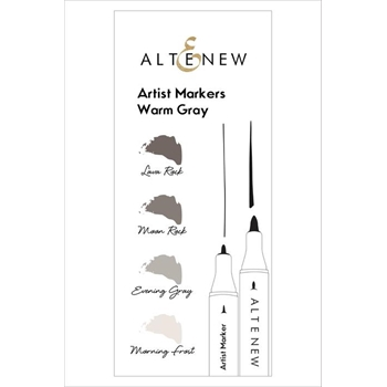 Altenew Artists Markers WARM GRAY ALT1960