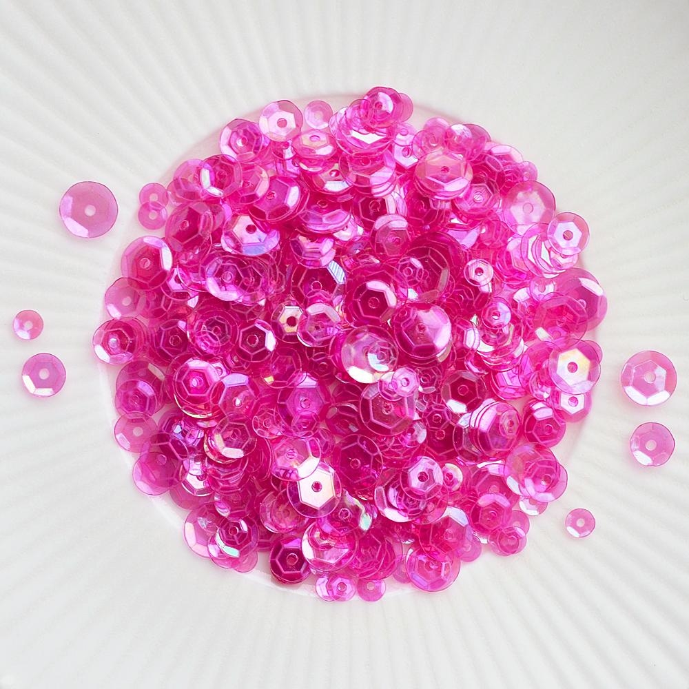 Little Things From Lucy's Cards FUCHSIA Sequin Mix LB213 zoom image