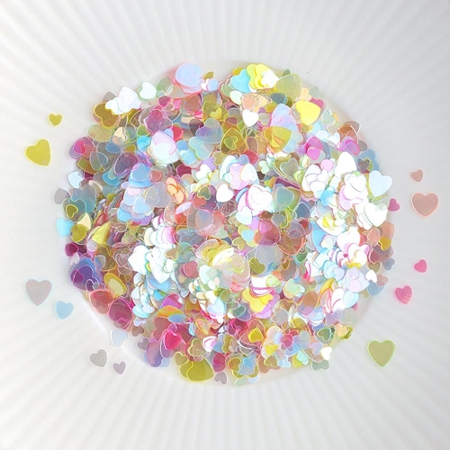 Little Things From Lucy's Cards Sprinkles SCATTERED HEARTS MULTICOLORED LB223 Preview Image