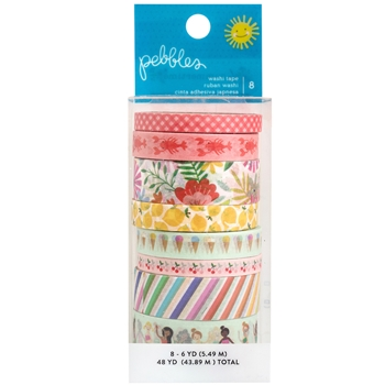 Pebbles Inc. WASHI TAPE Oh Summertime Collection 734090