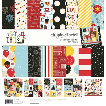Simple Stories SAY CHEESE 4 12 x 12 Collection Kit 10522