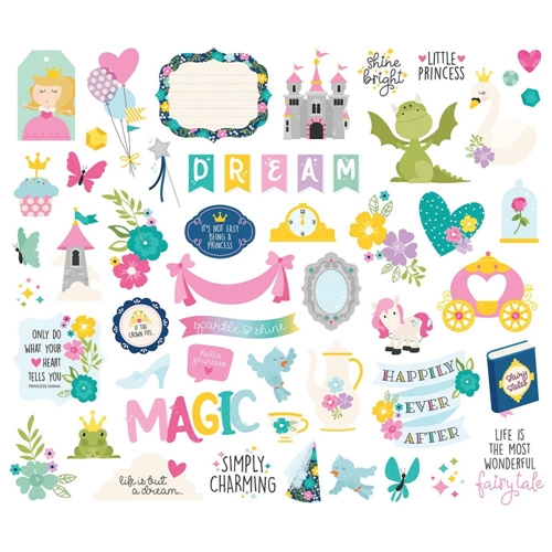 Simple Stories LITTLE PRINCESS Bits And Pieces 10569 Preview Image