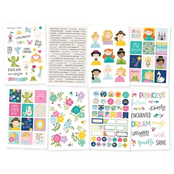 Simple Stories LITTLE PRINCESS 4 x 6 Stickers 10571