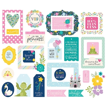 Simple Stories LITTLE PRINCESS Tags And Frames 10572