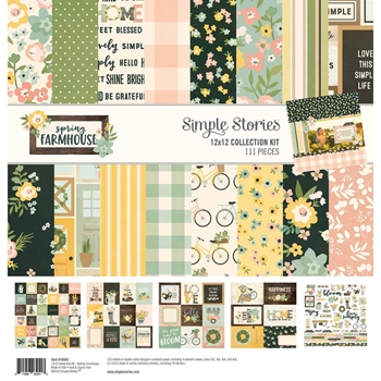 Simple Stories SPRING FARMHOUSE 12 x 12 Collection Kit 10583