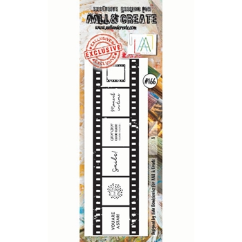 AALL & Create CLICK BORDER Clear Stamp aal00166