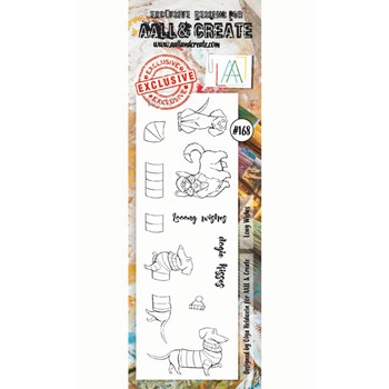 AALL & Create LONG WISHES Clear Stamps aal00168