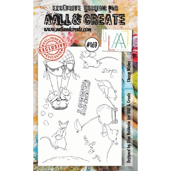 AALL & Create CHEESY WISHES Clear Stamp Set aal00169