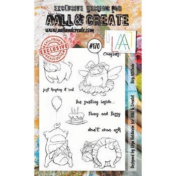 AALL & Create DOG ATTITUDE Clear Stamp Set aal00170