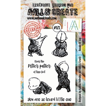 AALL & Create BUNDLE OF JOY Clear Stamp Set aal00173