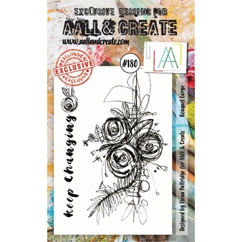 AALL & Create BOUQUET LARGE Clear Stamp Set aal00180