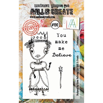 AALL & Create PRINCESS Clear Stamp Set aal00190