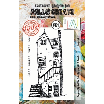 AALL & Create HOUSE SET 1 Clear Stamp Set aal00191