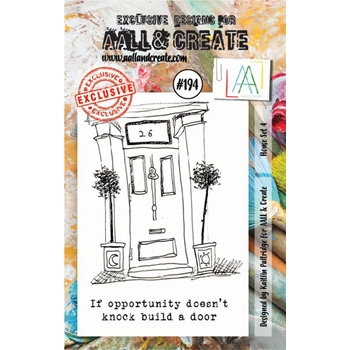 AALL & Create HOUSE SET 4 Clear Stamp Set aal00194