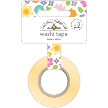 Doodlebug SIGNS OF SPRING Washi Tape 6216