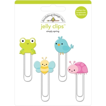 Doodlebug SIMPLY SPRING JELLY CLIPS Paper Clip 6245