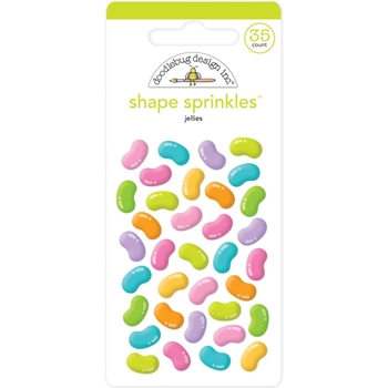 Doodlebug JELLIES Shape Sprinkles Hoppy Easter 6228