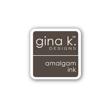Gina K Designs CHOCOLATE TRUFFLE AMALGAM Cube Mini Ink Pad 4205
