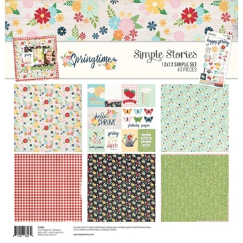 Simple Stories SPRINGTIME 12 x 12 Collection Kit 10694