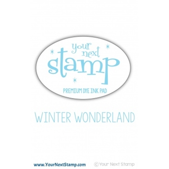 Your Next Stamp WINTER WONDERLAND Premium Dye Ink Pad ynsip019
